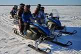 packice snowmobile tour