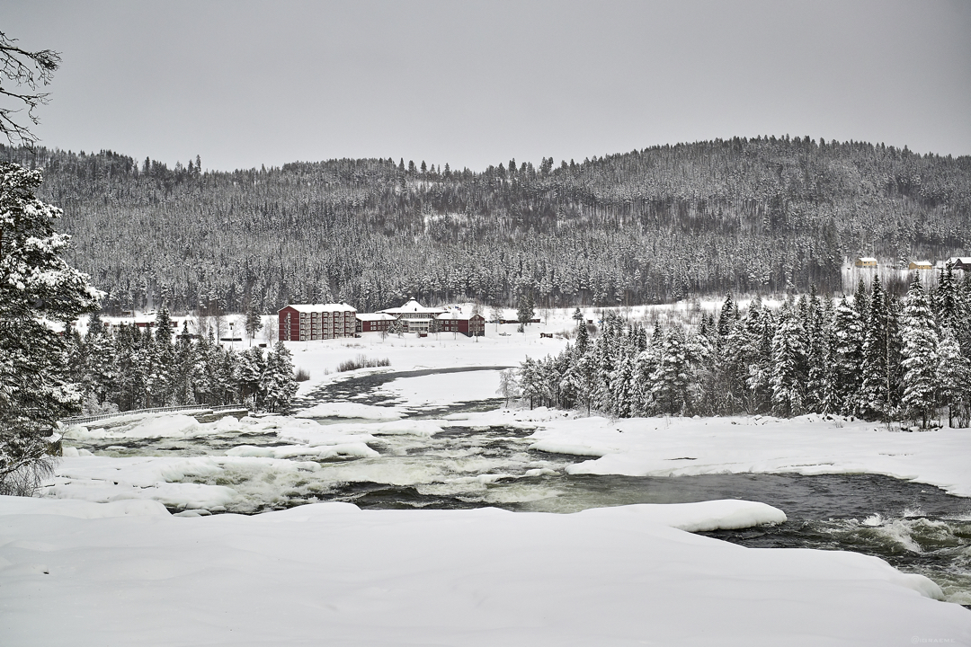 Storforsen Winter